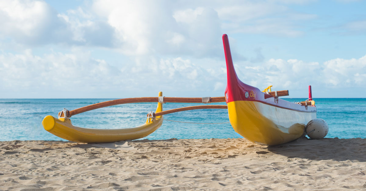 What is an outrigger canoe