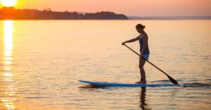 Is stand up paddle boarding hard?