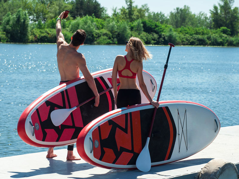 How to pick a paddle board? An all-around board is good for most uses.
