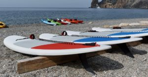 How to store a stand up paddle board